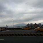 Walking bridge to New Taipei City