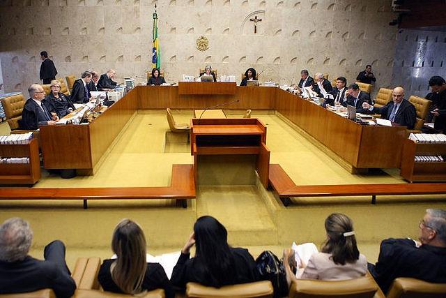 O plenário do Supremo Tribunal Federal (STF) julga na tarde desta quarta-feira o habeas corpus preventivo do ex-presidente Lula - Créditos: Nelson Jr/ STF