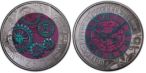 2016 Austria niobium coin