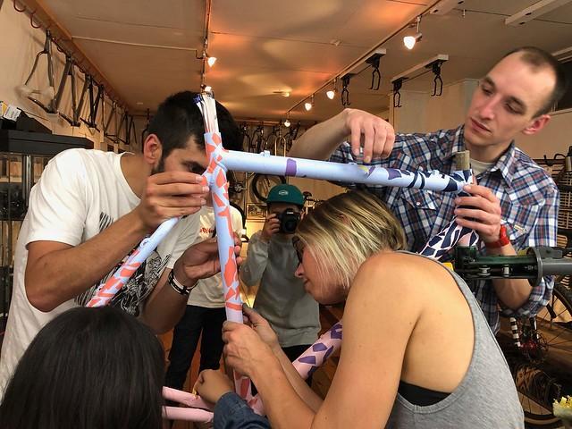 Squid Bikes Spray Party @AboveBikeStore