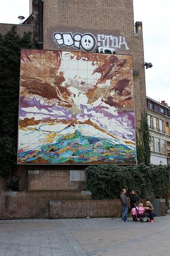 mural in town