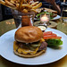 RH Courtyard Cafe - the burger
