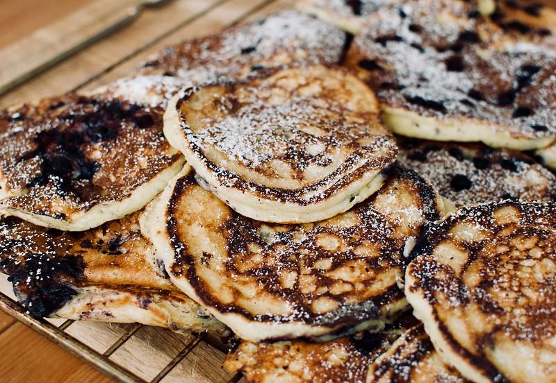 Martha's buttermilk pancakes