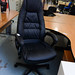 High back chair with arms new E225