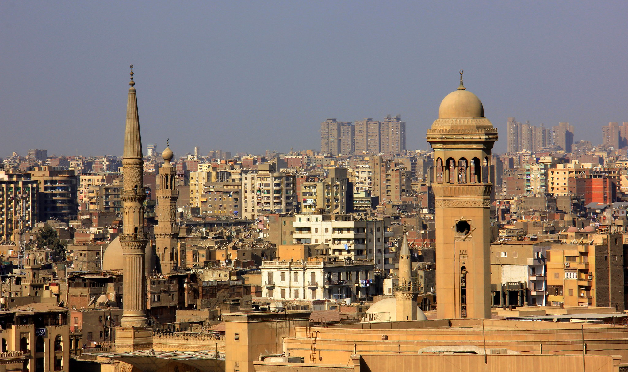Cairo spring is a good time for visiting