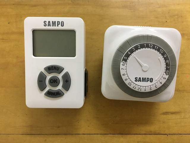 電子式與機械式的定時器@SAMPO聲寶計時器 (EP-UN1BT/EP-U142T)@