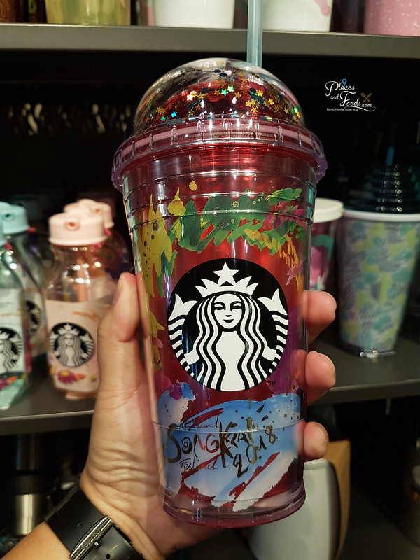 Starbucks Thailand Songkran Day 2018 Collections colourful
