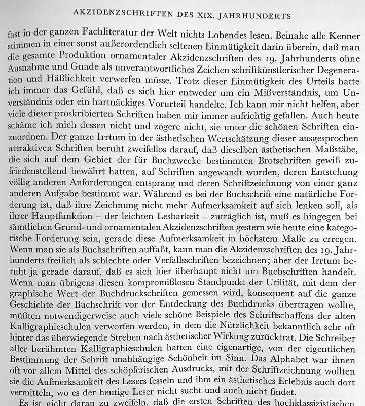 Akzidenzschriften des 19. Jahrhunderts