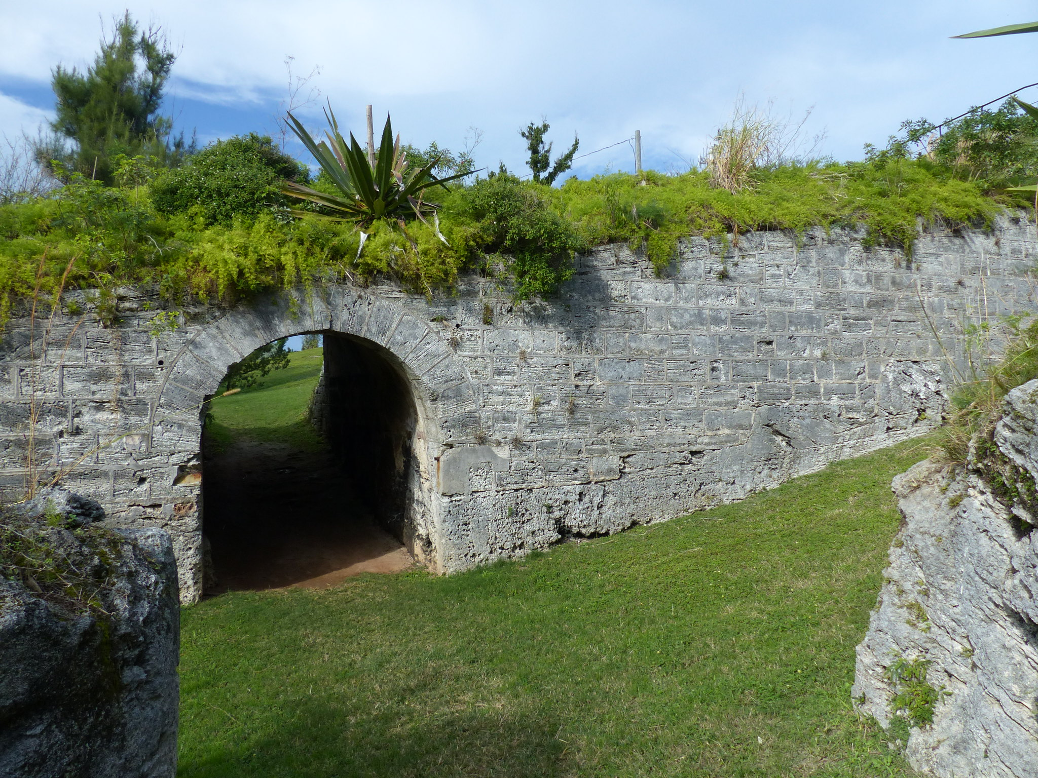 Scaur Hill Fort ramparts