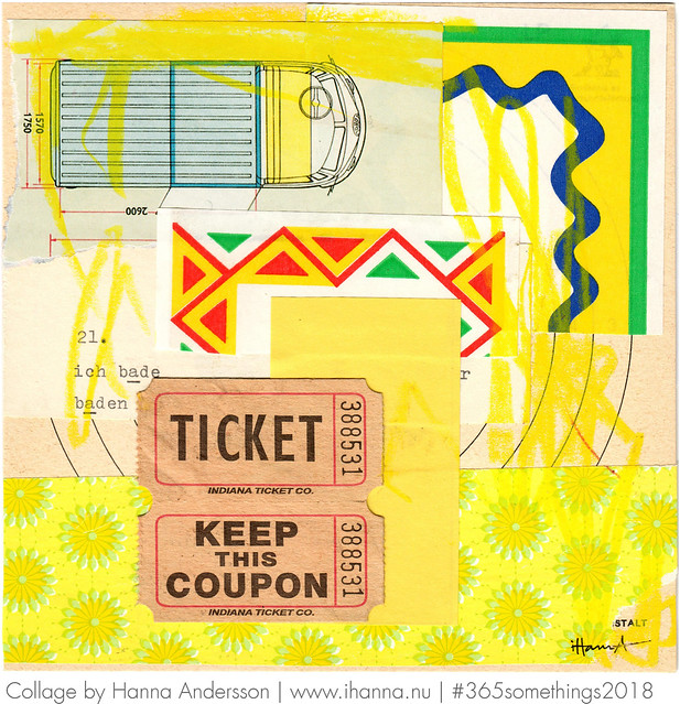 Ticket to go ahead - Collage no 62
