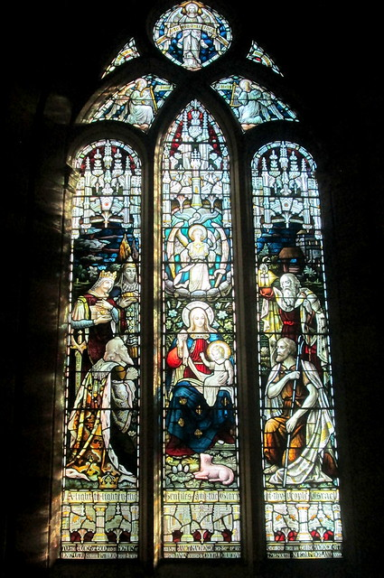 Stained Glass  Again, Crichton Collegiate Kirk