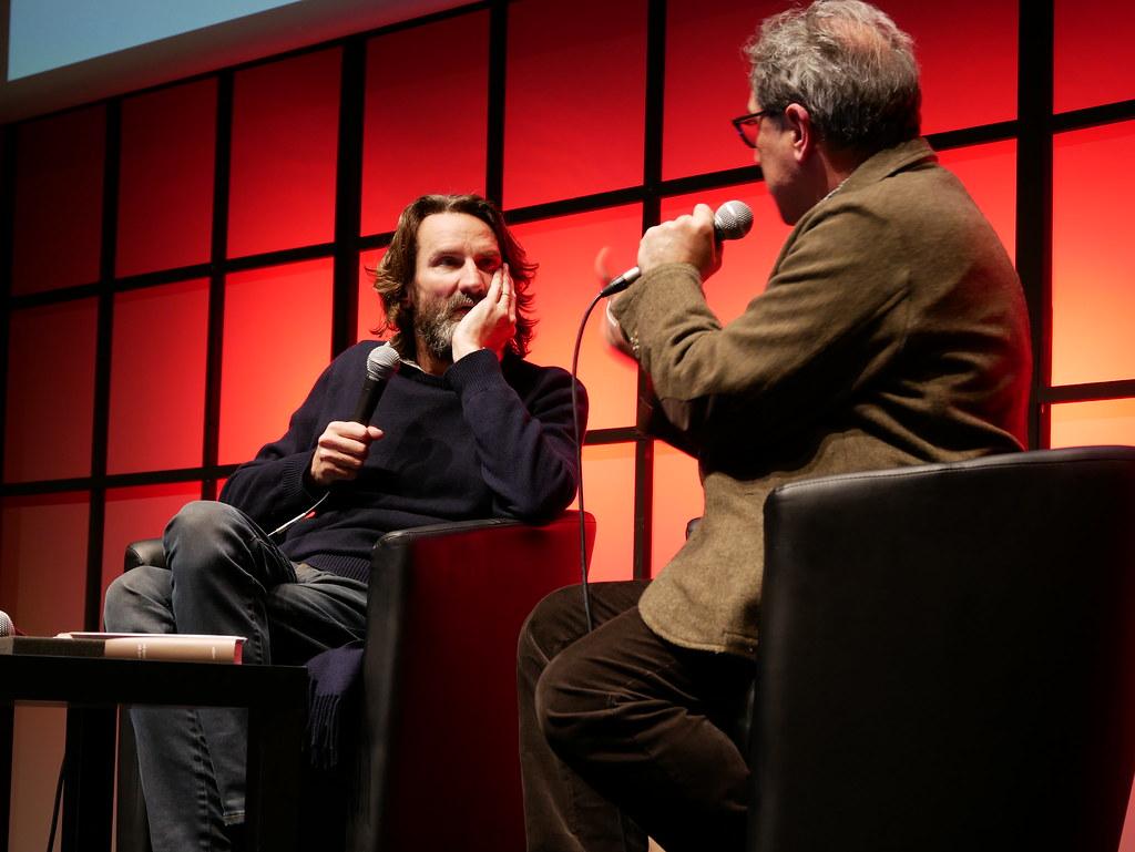 Frédéric Beigbeder, invité du Salon du livre du journalisme