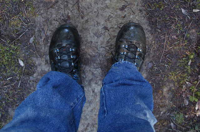 These Danner boots did a great job of keeping my feet warm and dry