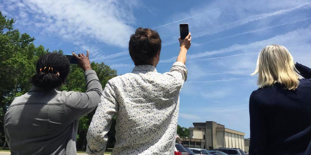 En prenant des photos des nuages vous pourrez aider les scientifiques de la NASA