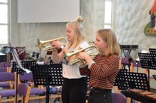 Signe Ankarhamn och Nora Lundquist