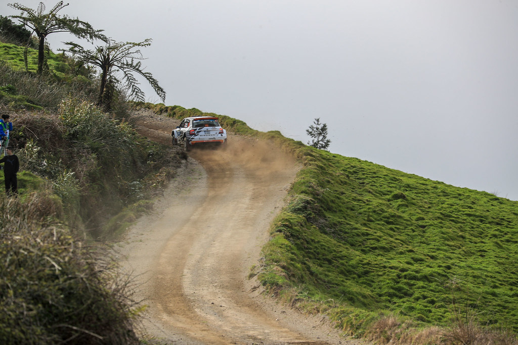 action during the 2018 European Rally Championship ERC Azores rally,  from March 22 to 24, at Ponta Delgada Portugal - DPPI