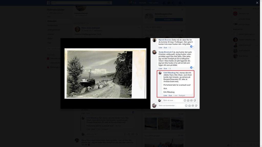 facebook olsen i støa hm
