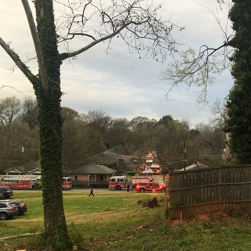 I Went To Help Build A House And Watched City Of Atlanta Firefighters Save Another One.