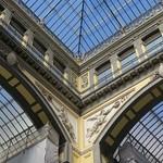 Galleria Principe di Napoli (1883), via Broggia-Museo Nazionale, Naples, Campanie, Italie.