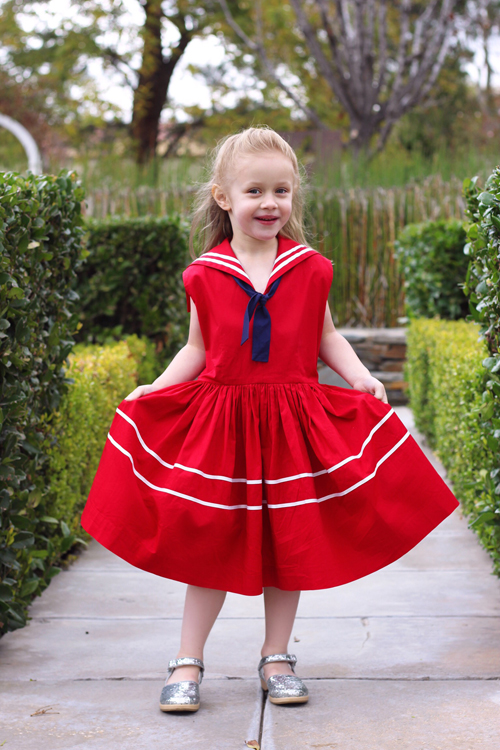 Trashy Diva Rockabilly Baby Skipper Dress