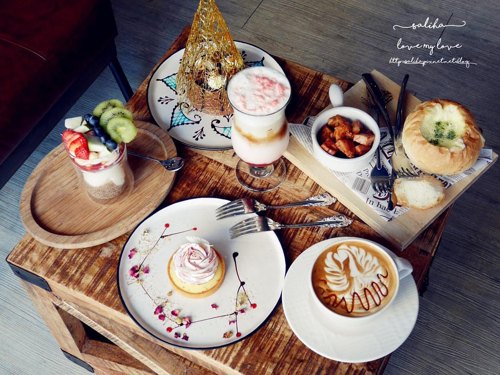 台北捷運松江南京站時安靜好咖啡館早午餐 (23)
