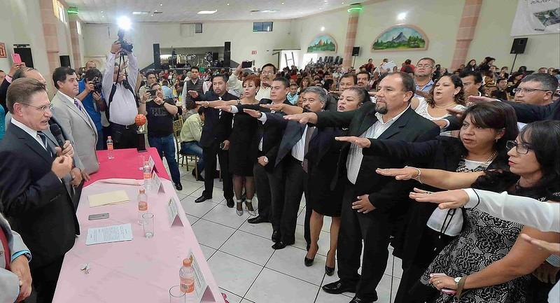 PÁG. 5 (2). A la muerte del Dr. Martín Rocha, la nueva lideresa del la sección 88 del SNTS, se dedicó a ejercer represalias en contra de los integrantes del comité seccional y la de