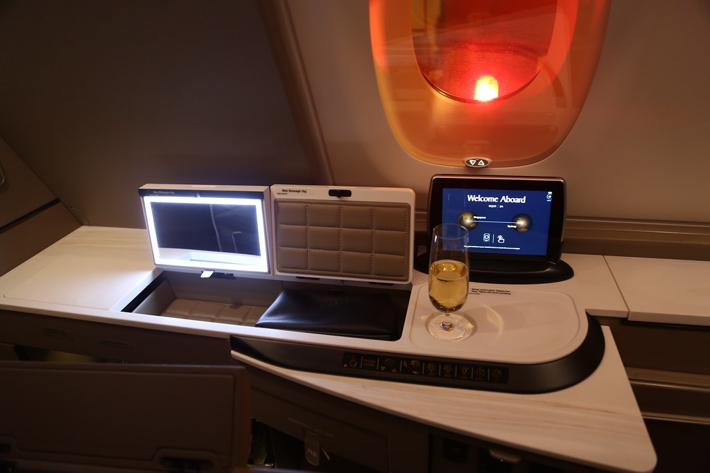 Singapore Airlines First Class Suites 32