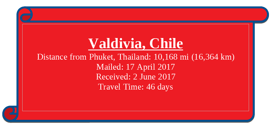 Info box - Valdivia, Chile