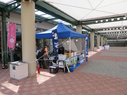 福島競馬場の内馬場の屋台