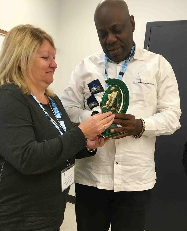 2018-04-10 - Visite d'une délégation congolaise