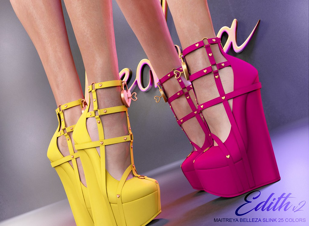 "Phedora. for Equal10 Event- ""Edith V2"" platforms ♥"