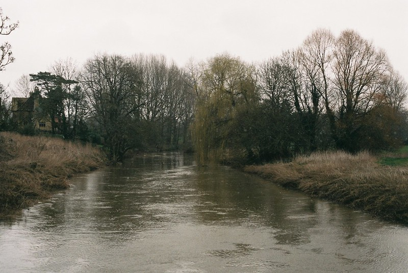 The Avon, at Lacock bridge