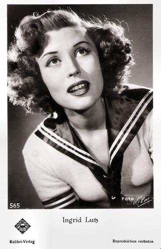 Ingrid Lutz in Die verschleierte Maja (1951)