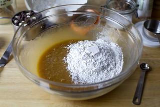 flour, sea salt