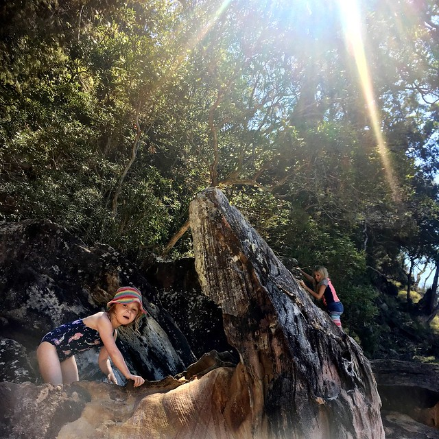 Olivia Rose. Sunbeams. Refuge Bay, Pittwater.