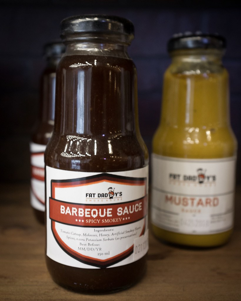 Fat Daddy's Smokehouse Barbecue Sauce and Mustard