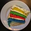 rainbow cake by Leo Reynolds