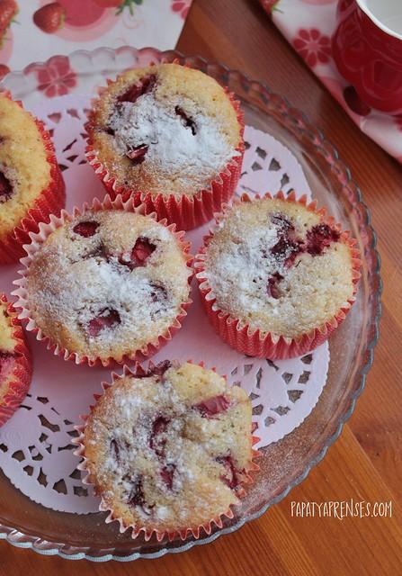 çilekli muffin (8)