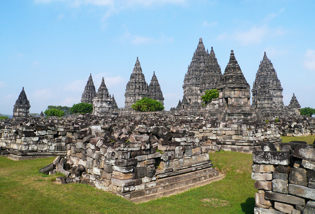 Prambanan Temple, Panasonic DMC-G3, Lumix G Vario HD 14-140mm F4.0-5.8 Asph. Mega OIS