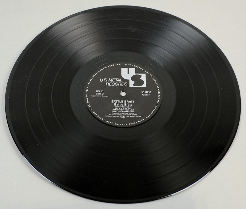 "BATTLE BRATT S/T SELF-TITLED 12"" LP ALBUM VINYL"