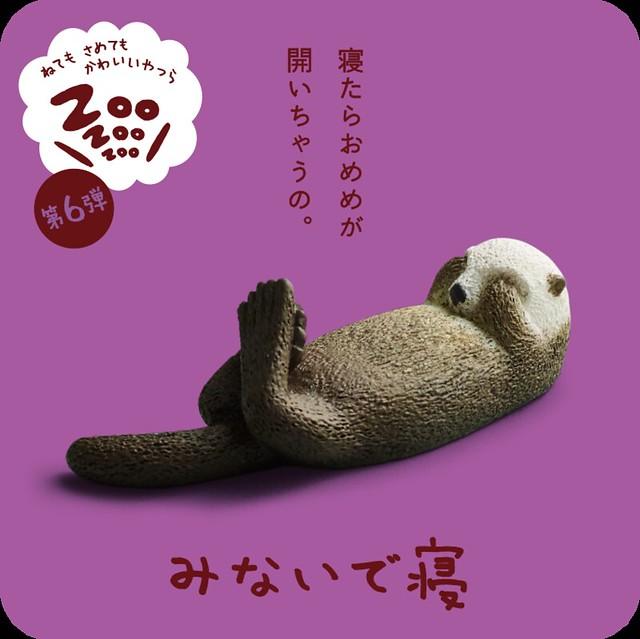 睡著的話,遮住眼睛的手就會打開嗎? 睡覺動物園ZooZooZoo 第6彈!ZooZooZoo 第6弾 みないで寝