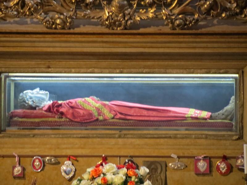Le spoglie di santa Lucia di SiracusaIMG_2627