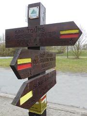 Marles-les-Mines Via Francigena , le GR 145  (1)
