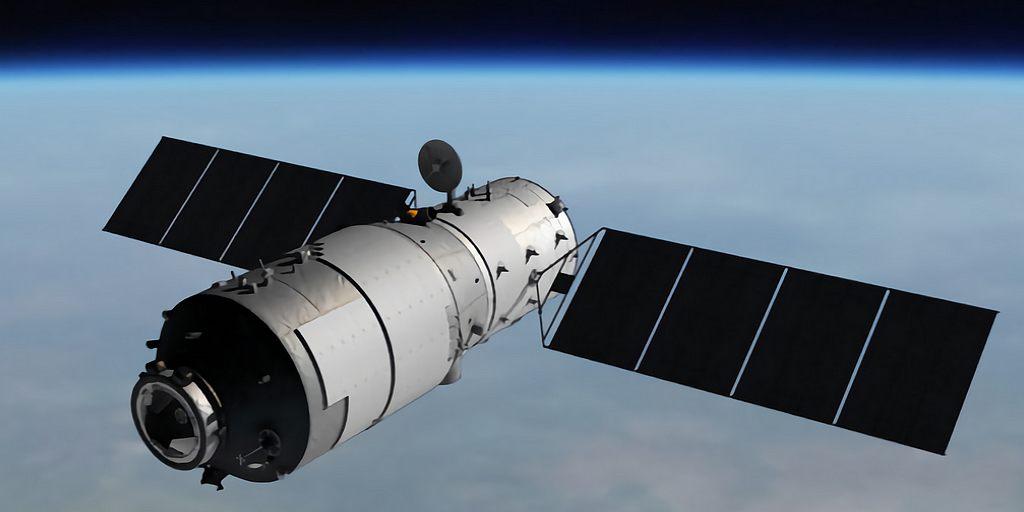 """La station spatiale chinoise """"Palais Céleste 1"""" se désintègrera lundi le 2 avril"""