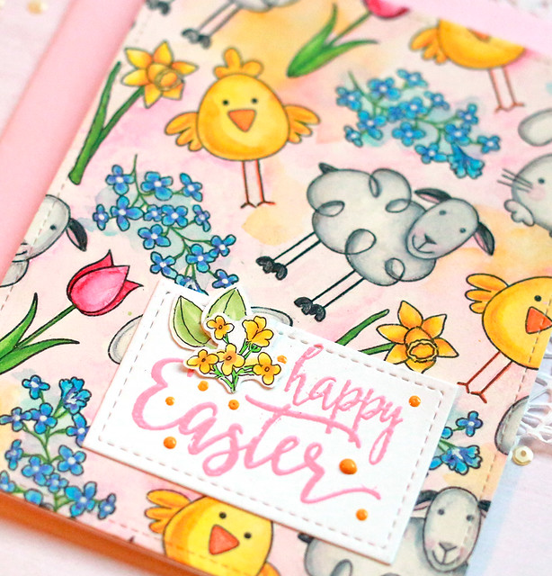 happy easter close up