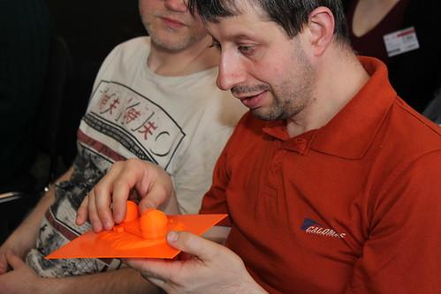 Účastník sekce Přístupnost nejen webu při prohlížení 3D modelu