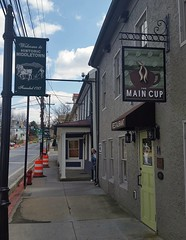 Lunch at The Main Cup in Middletown. www.TheMainCupRestaurant.com 14 West Main Street, Middletown, Md. 21769 301.371.4433 We really enjoyed our lunch. The server was very nice. The food was really delicious and came out amazingly fast.