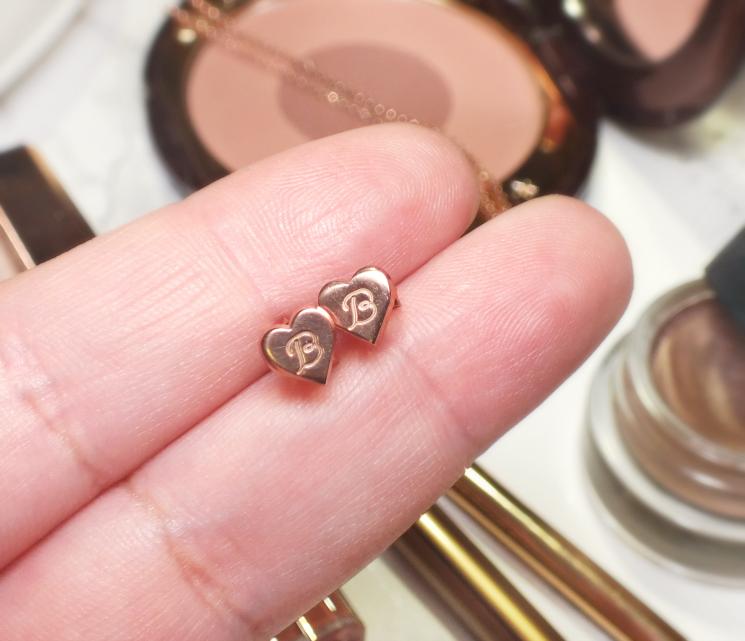oNecklace rose gold custom monogram jewellery (4)