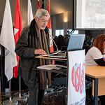 Seg, 16/04/2018 - 09:54 - A 7.ª edição da Semana Internacional decorreu entre 16 e 20 de abril, no âmbito do Programa de Mobilidade Internacional Erasmus+, com o objetivo de promover a troca de experiências e boas práticas de trabalho entre colegas de instituições de ensino superior, de 20 países europeus.