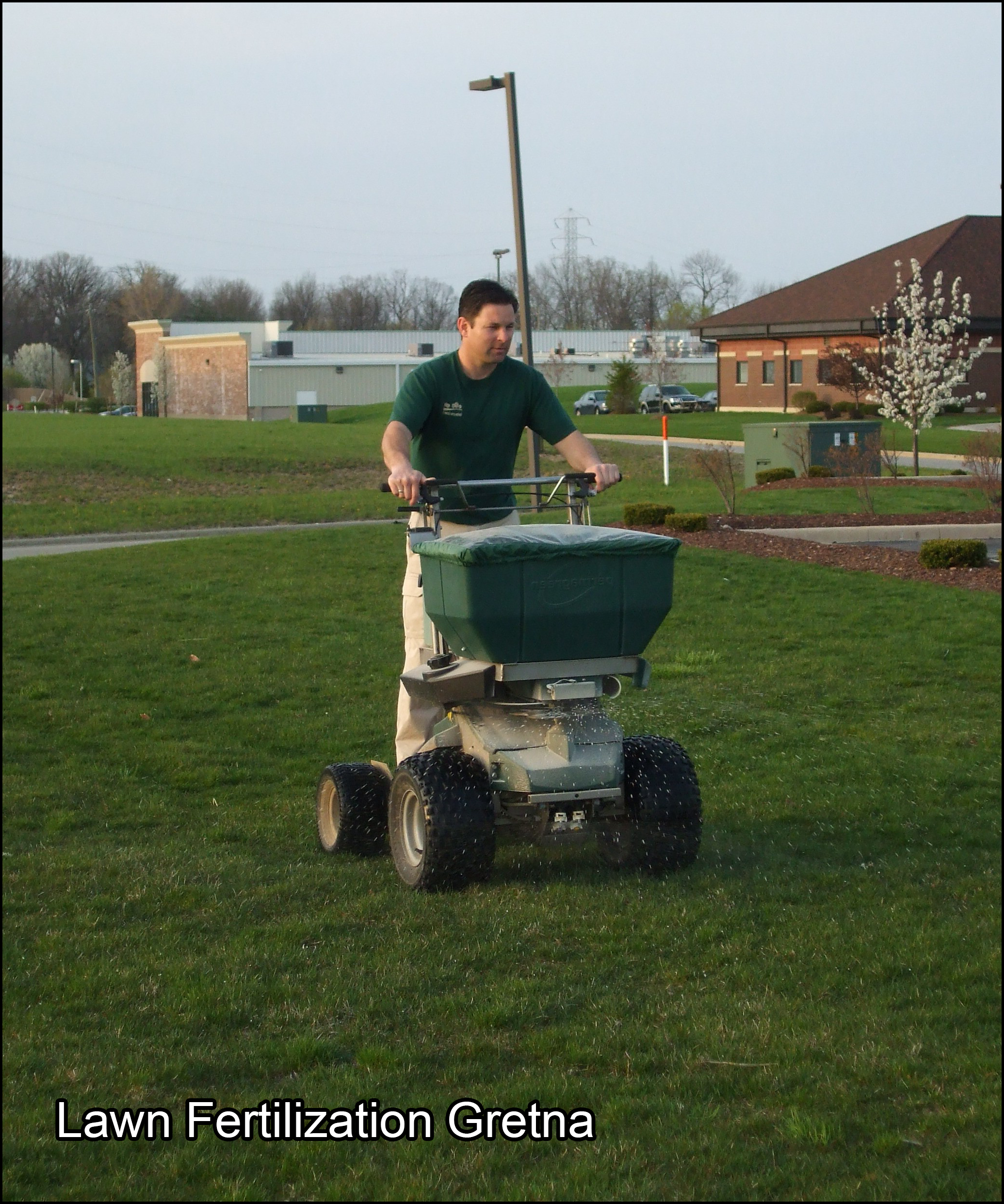 lawn fertilization gretna